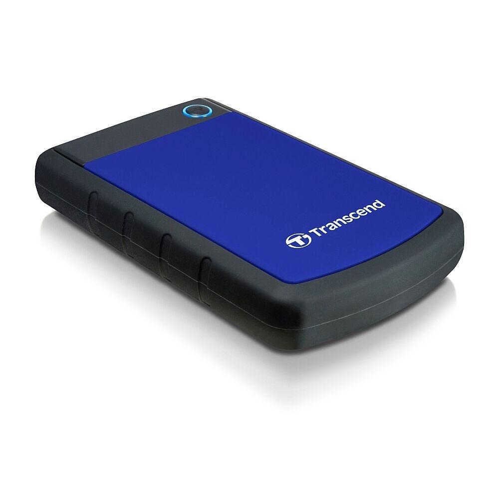 Transcend 1TB StoreJet 25H3 disco duro externo 1000 GB Negro, Azul