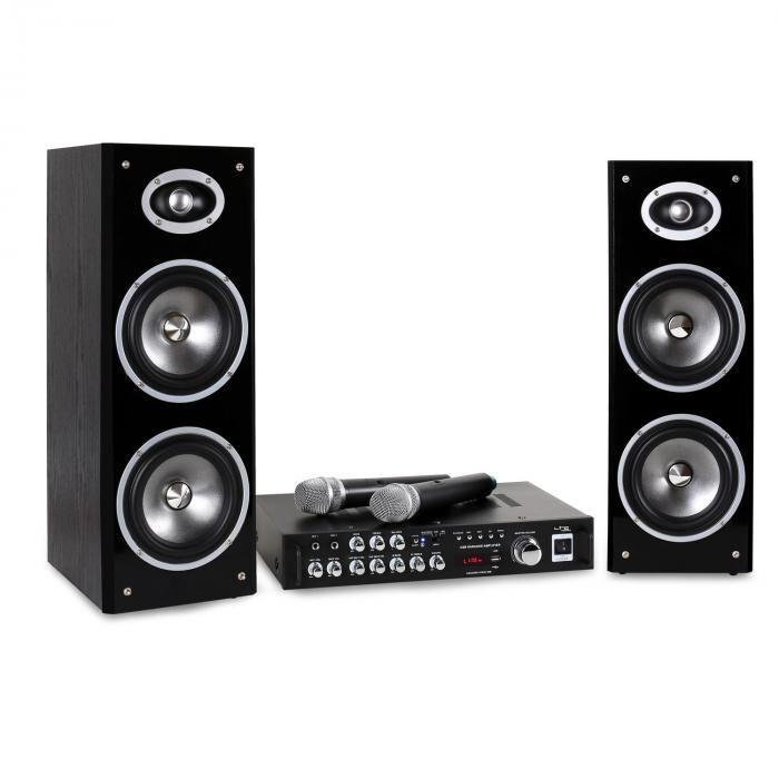 LTC Karaoke Star Set de Karaoke 3D BT Plug & Play USB (KARAOKESTAR3-WM)