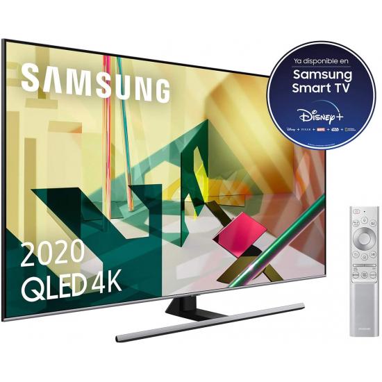 """Samsung Televisor Samsung Series 7 QE75Q75TAT 190,5 cm (75"""") 4K Ultra HD Smart Wifi Negro"""
