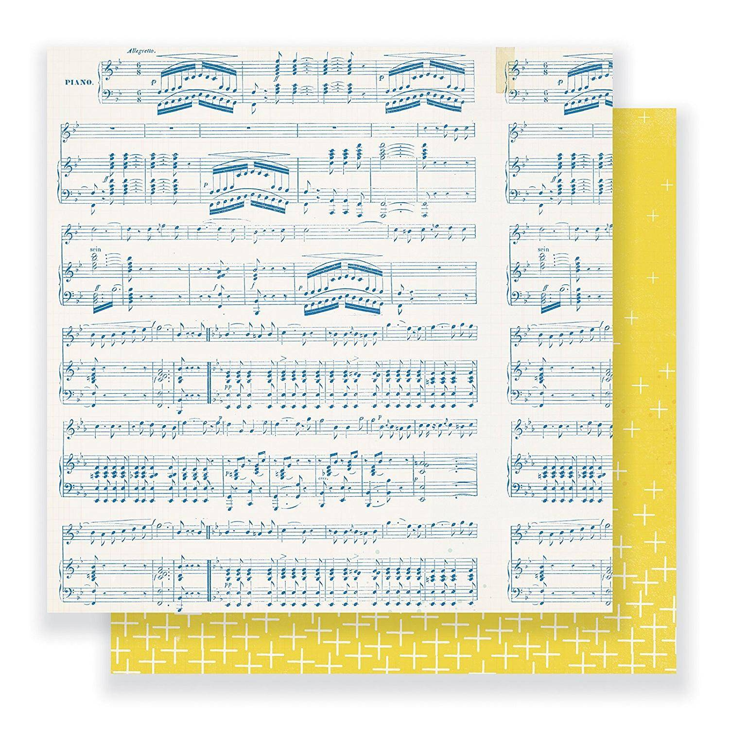 """American Crafts Papel scrapbooking Gather 12""""x12"""" Crate Paper AC"""