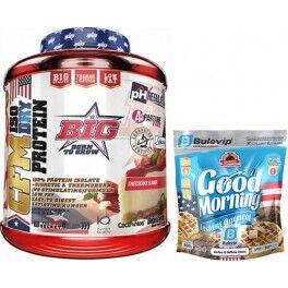BIG Pack BIG CFM ISO DRY Protein Isolate 1,8 kg + Max Protein Harina de Avena Bulevip 500 gr Sabor Bombón Rocher