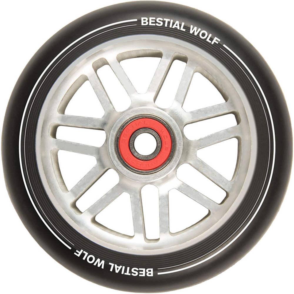 Bestial Ruedas patinete rueda shire aluminio 110mm