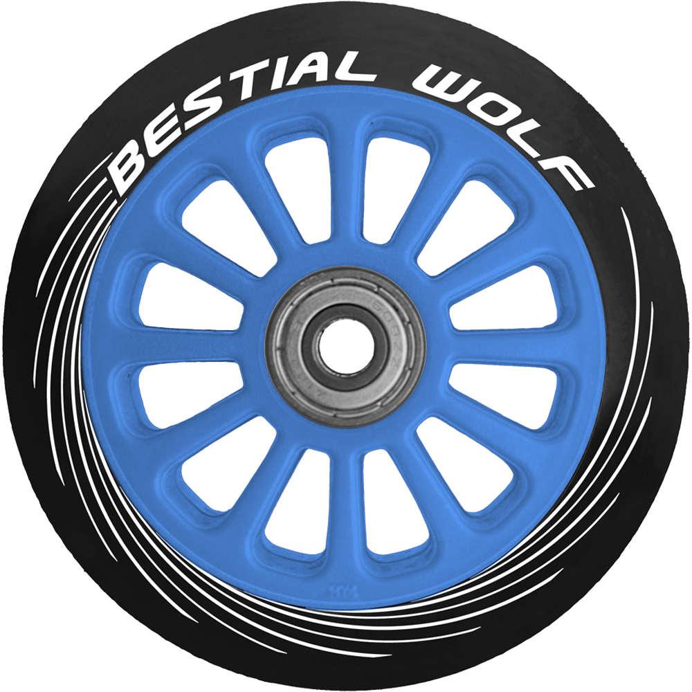 Bestial Ruedas patinete rueda pilot plastico 100mm