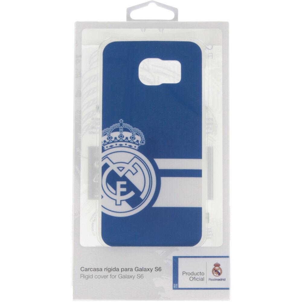 Real Madrid Merchandaising equipos de fútbol oficiales carcasa real madrid samsung galaxy s6 az