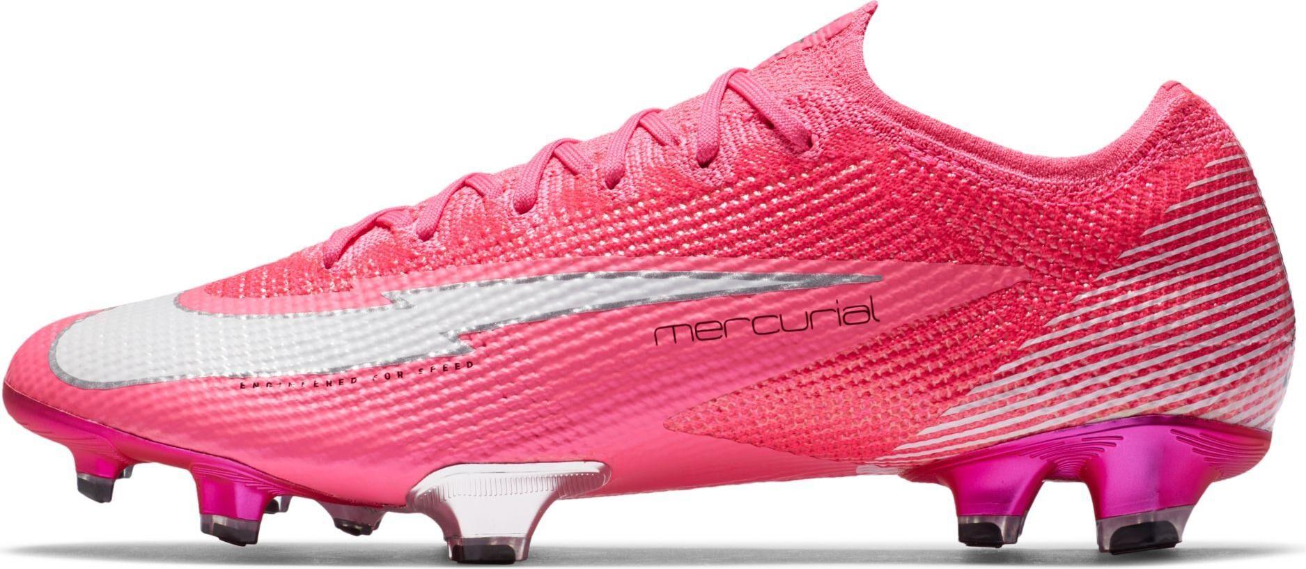 Nike Botas de fútbol Nike VAPOR 13 ELITE MBAPPE ROSA FG db5603-611 Talla 47 EU