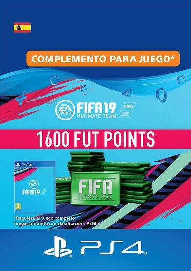 Sony Online Entertainment FIFA 19 - 1600 FUT Points (PS4) PSN Key SPAIN