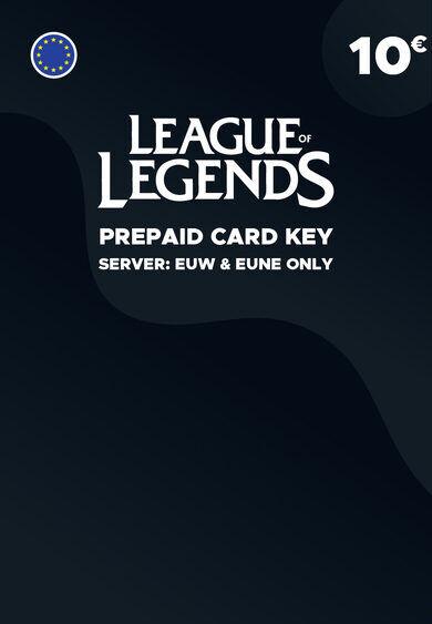 Riot Games League of Legends 10 EUR Prepaid RP Card Key EUROPE