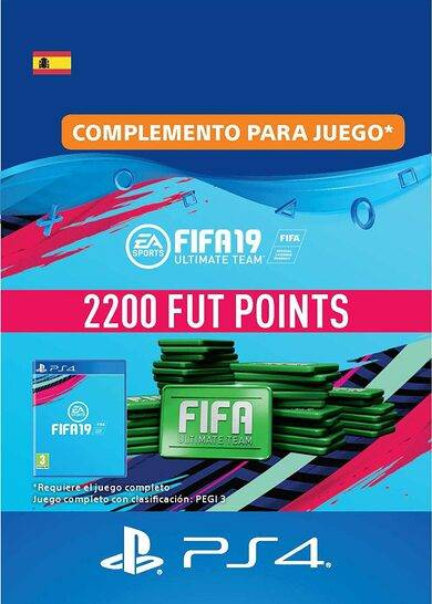 Sony Online Entertainment FIFA 19 - 2200 FUT Points (PS4) PSN Key SPAIN
