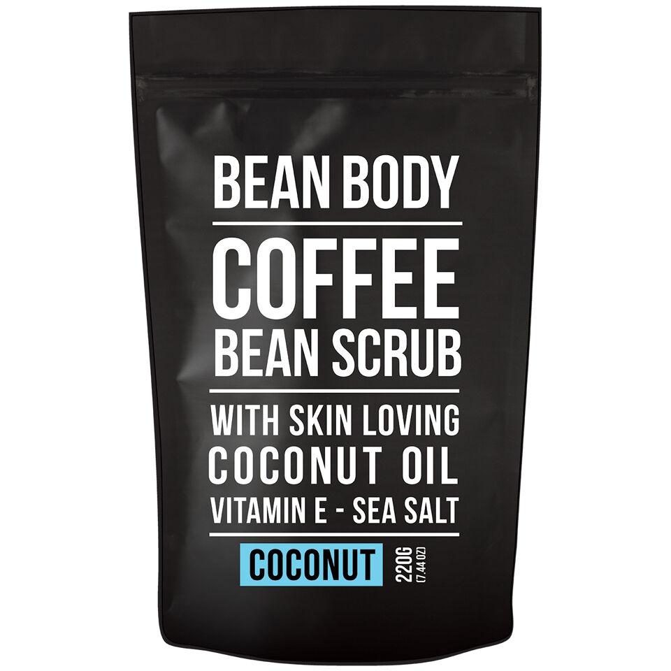 Bean Body Exfoliante de Granos de Café de  220 g - Coco