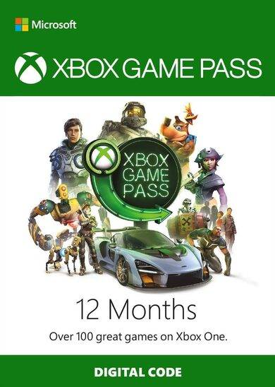 Microsoft Studios Xbox Game Pass 12 Months Xbox Live Key GLOBAL