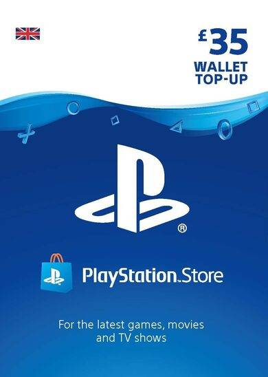 Sony Online Entertainment PlayStation Network Card 35 GBP (UK) PSN Key UNITED KINGDOM