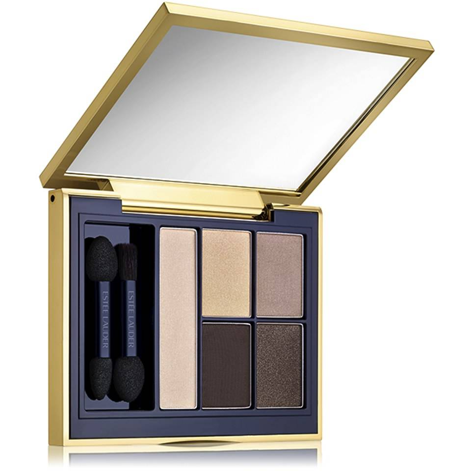 Estee Lauder Sombra de ojos Pure Color Envy Sculpting Eyeshadow, paleta de 5 colores, 7 g, en Ivory Power de