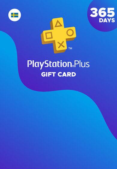 Sony Online Entertainment PlayStation Plus Card 365 Days (SE) PSN Key SWEDEN