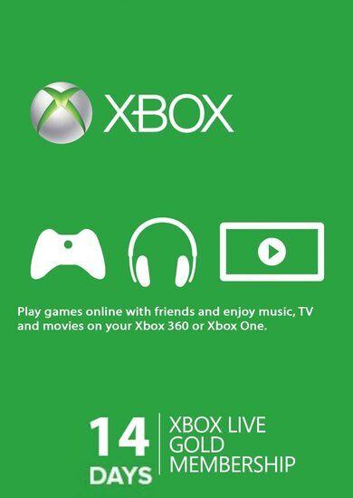 Microsoft Studios Xbox Live Gold 14 days Xbox Live Key GLOBAL