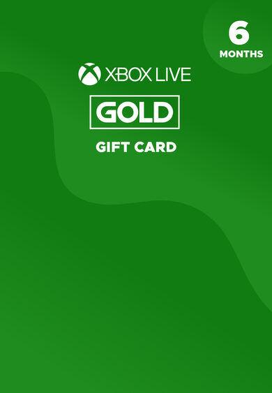 Microsoft Studios Xbox Live Gold 6 month Xbox Live Key GLOBAL