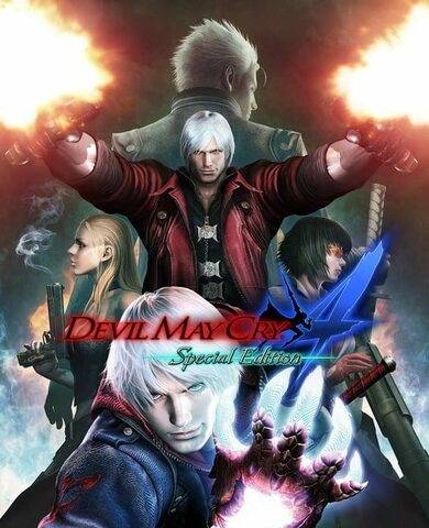 CAPCOM Co., Ltd. Devil May Cry 4 (Special Edition) Steam Key GLOBAL