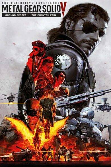Konami Metal Gear Solid V: The Definitive Experience Steam Key GLOBAL