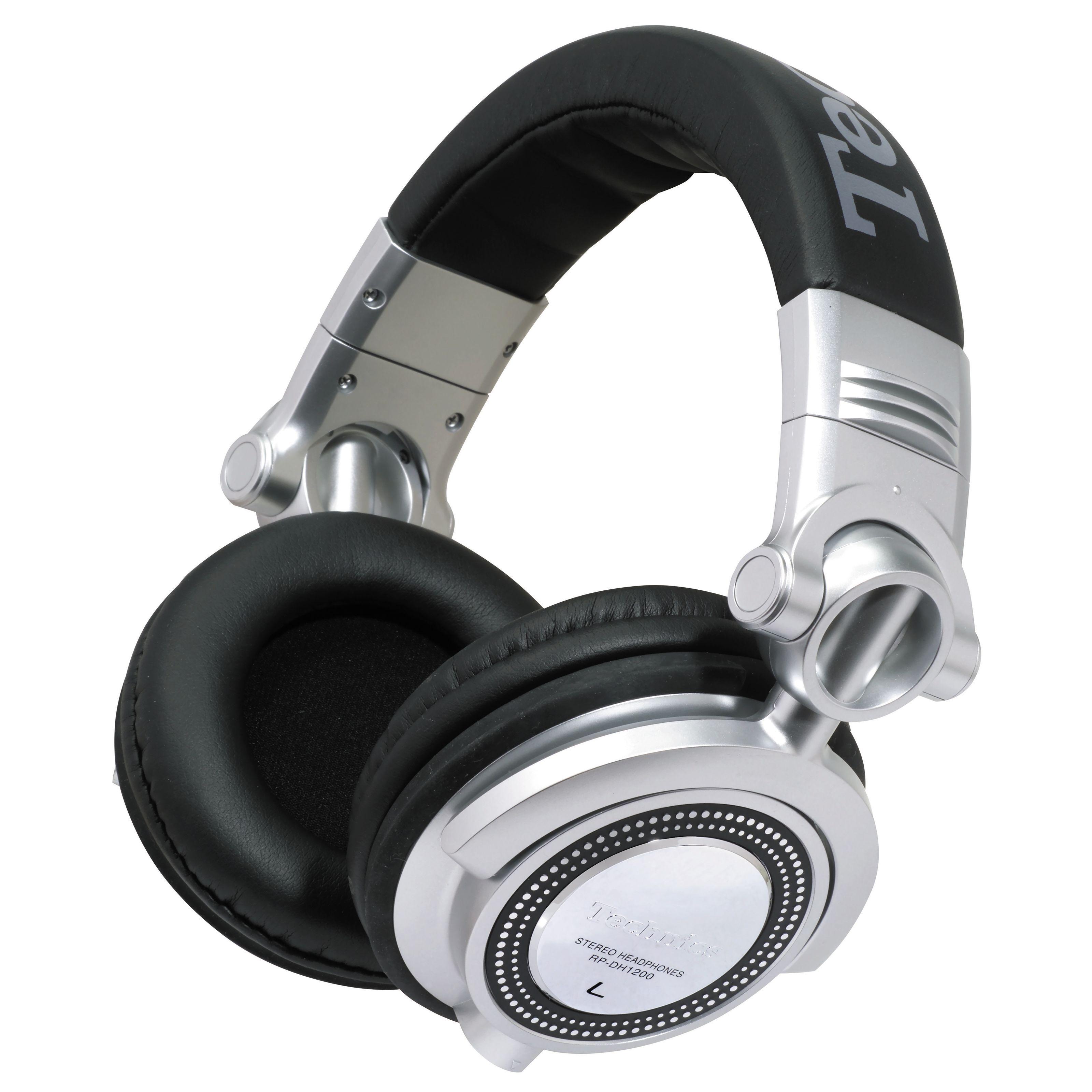 Technics RP-DH1200E-S auricualres dj, cerrados,107dB