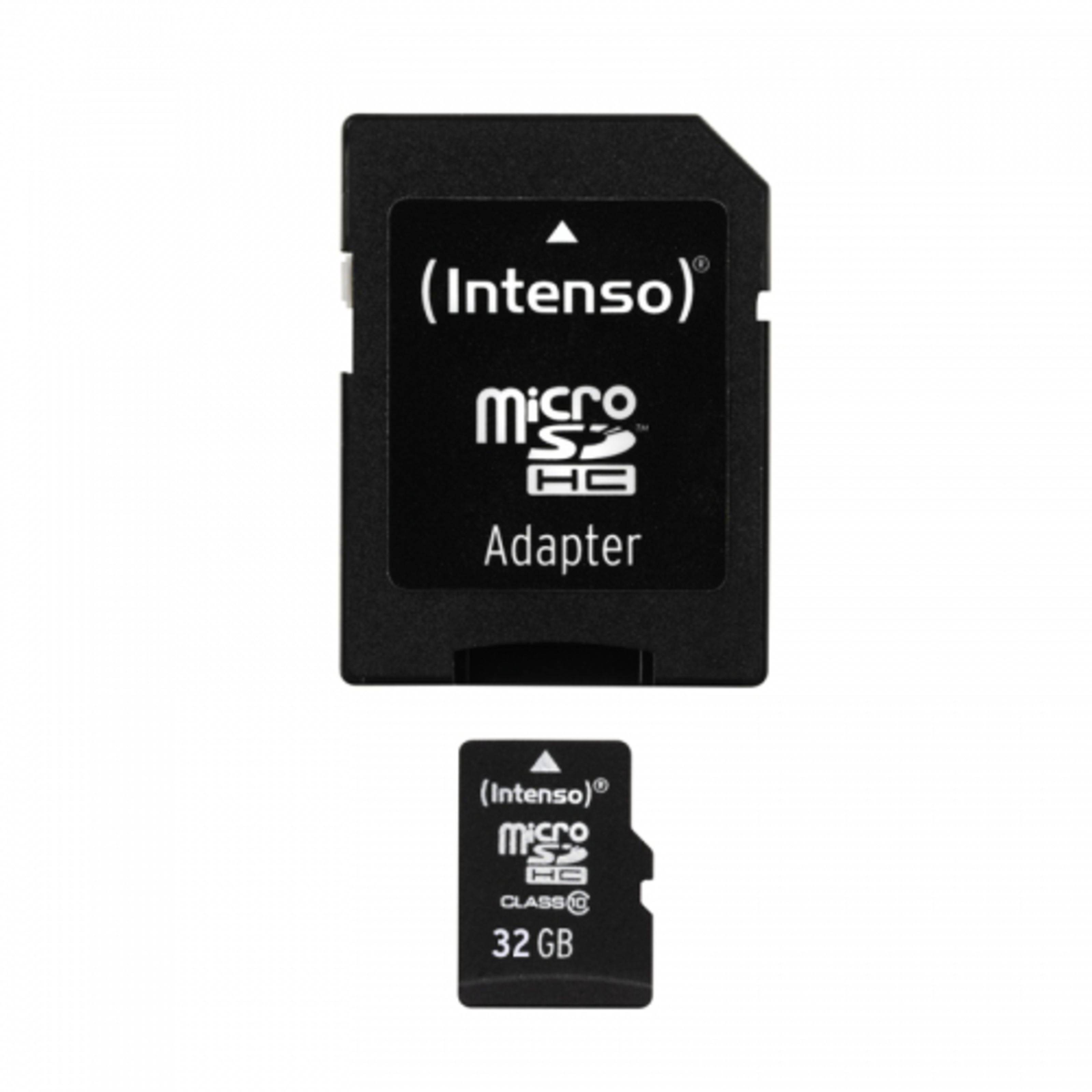 Intenso 32GB Micro SDHC Class 10 Micro Tarjeta SD