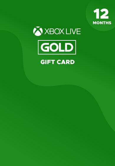 Microsoft Studios Xbox Live Gold 12 months Xbox Live Key BRAZIL
