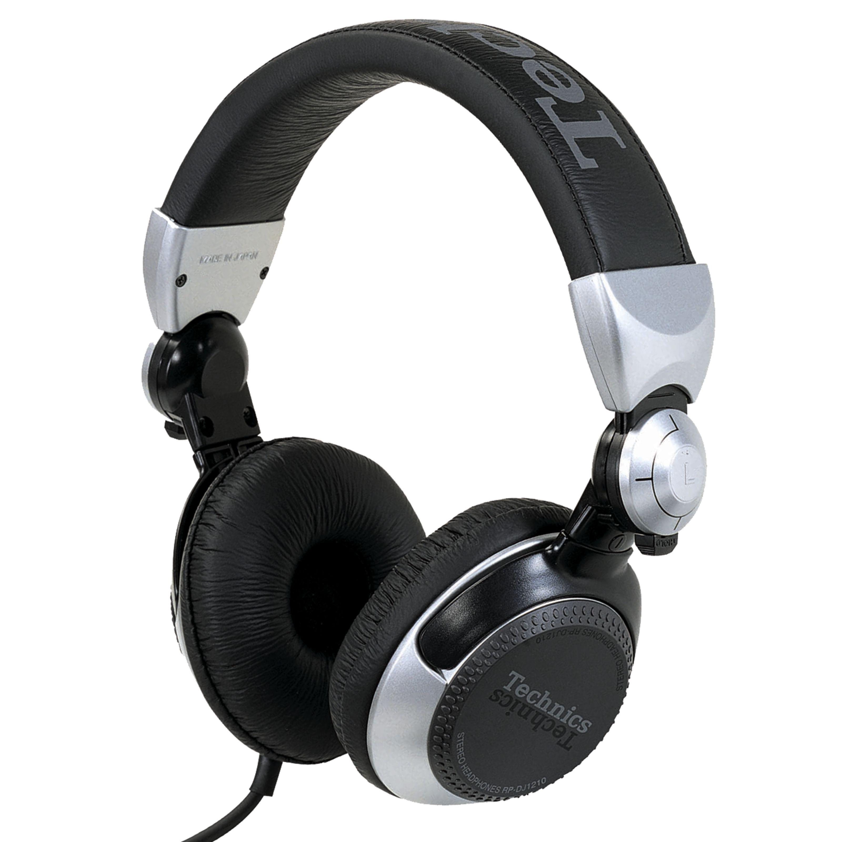 Technics RP-DJ1210E-S plateado 5 Hz - 30 kHz, 32 Ohmios, 106 db
