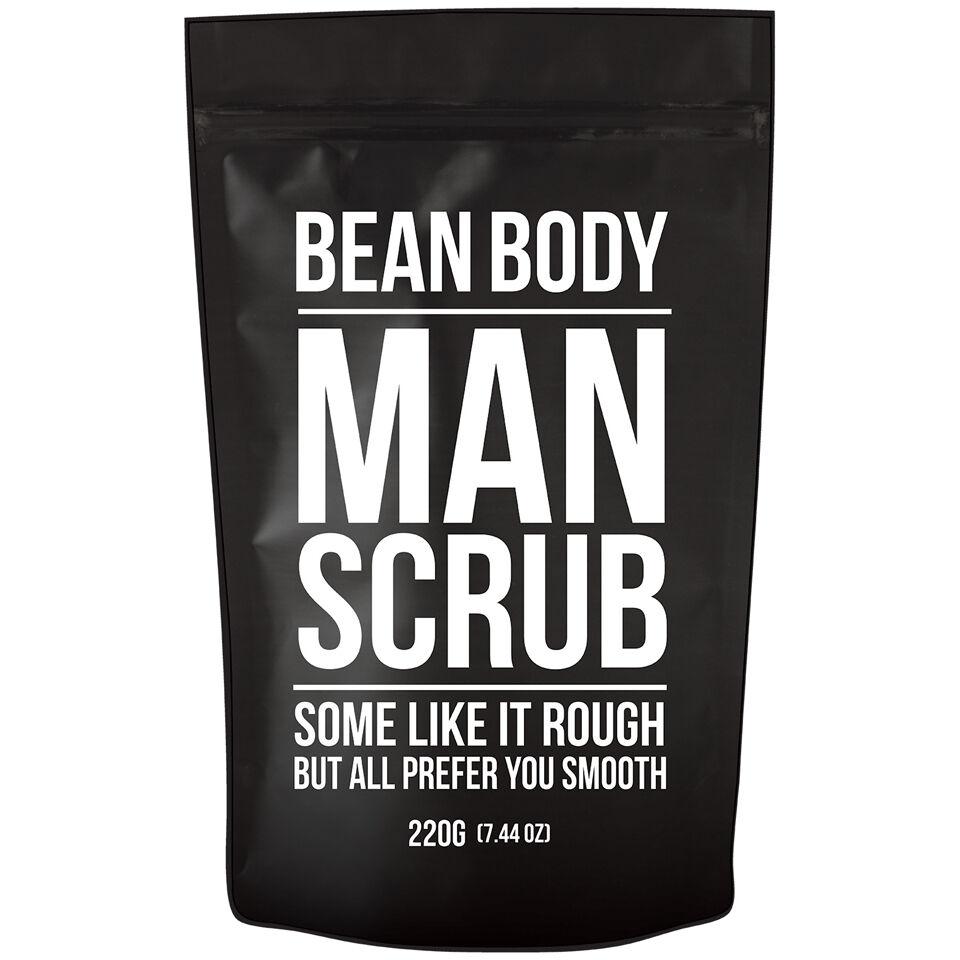 Bean Body Exfoliante de Granos de Café de  220 g- Exfoliante de Hombre