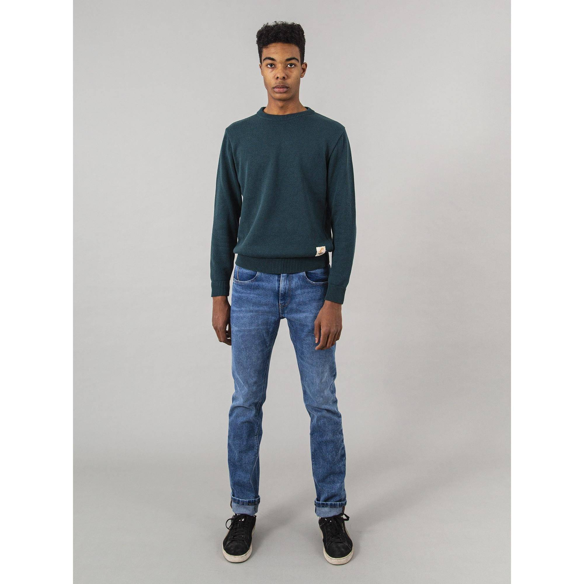 Capitán Denim Vaqueros RAY ECO RE-FORCED BLUE algodón reciclado Capitán Denim 50