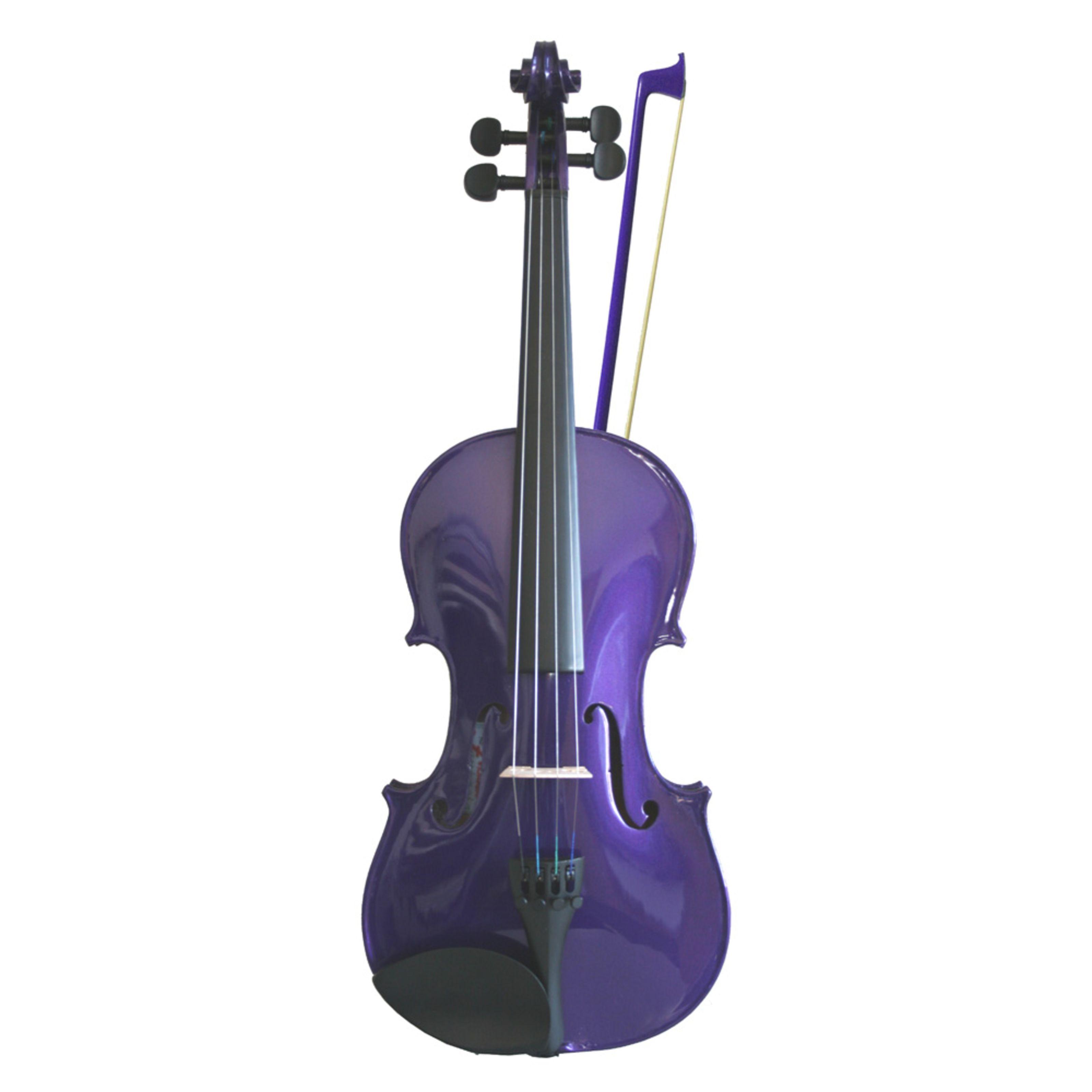 Primavera VF170 Rainbow Violin 4/4 (Purple)
