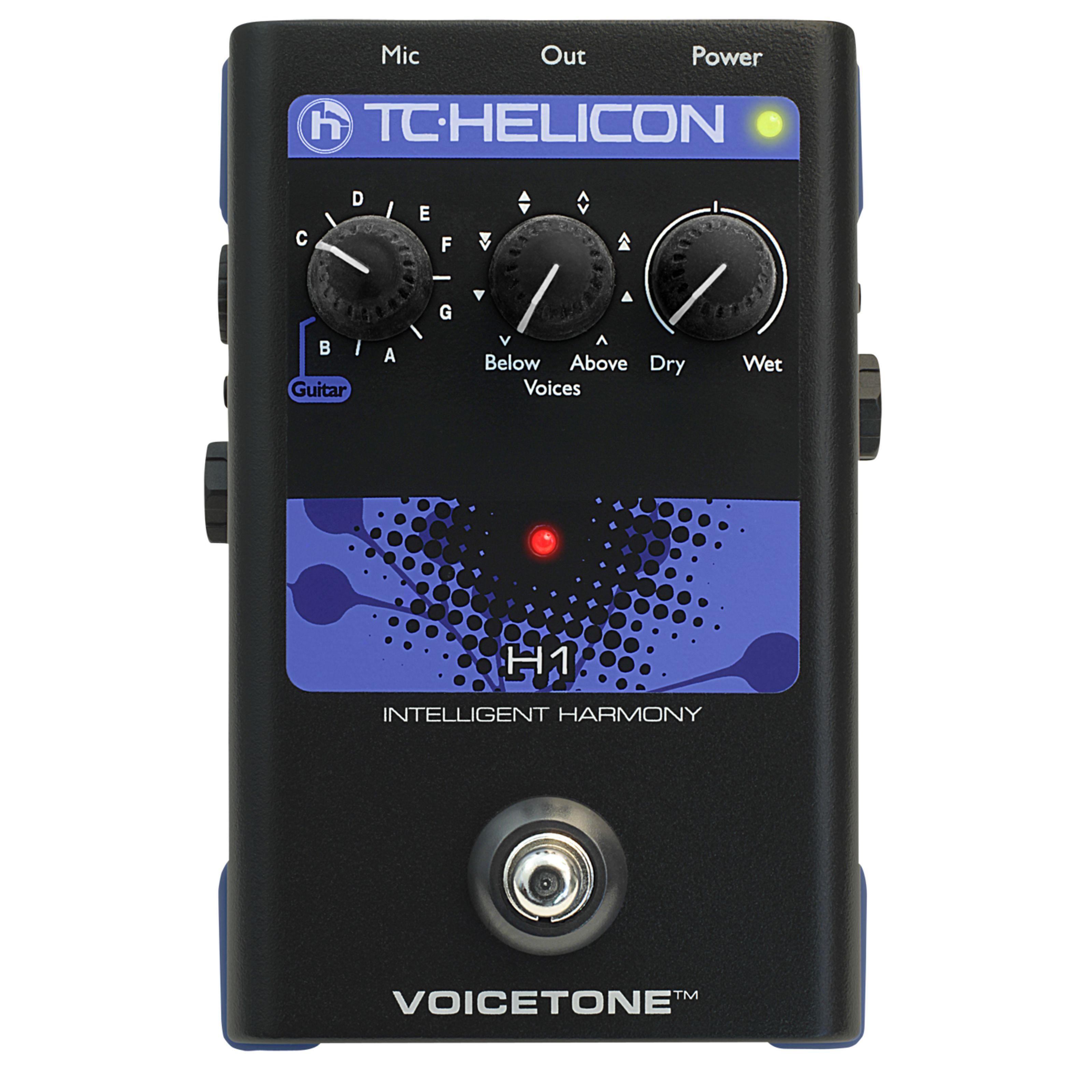 TC-Helicon VoiceTone H1 Intelligent Harmony Effect