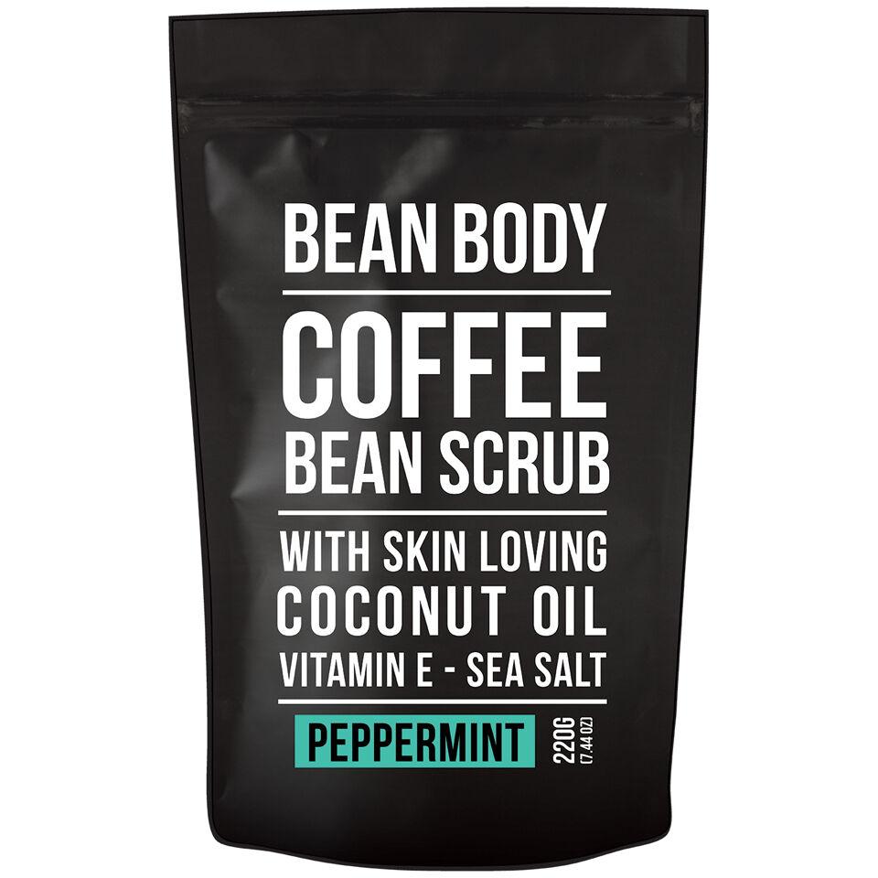 Bean Body Exfoliante de Granos de Café de  220 g- Menta