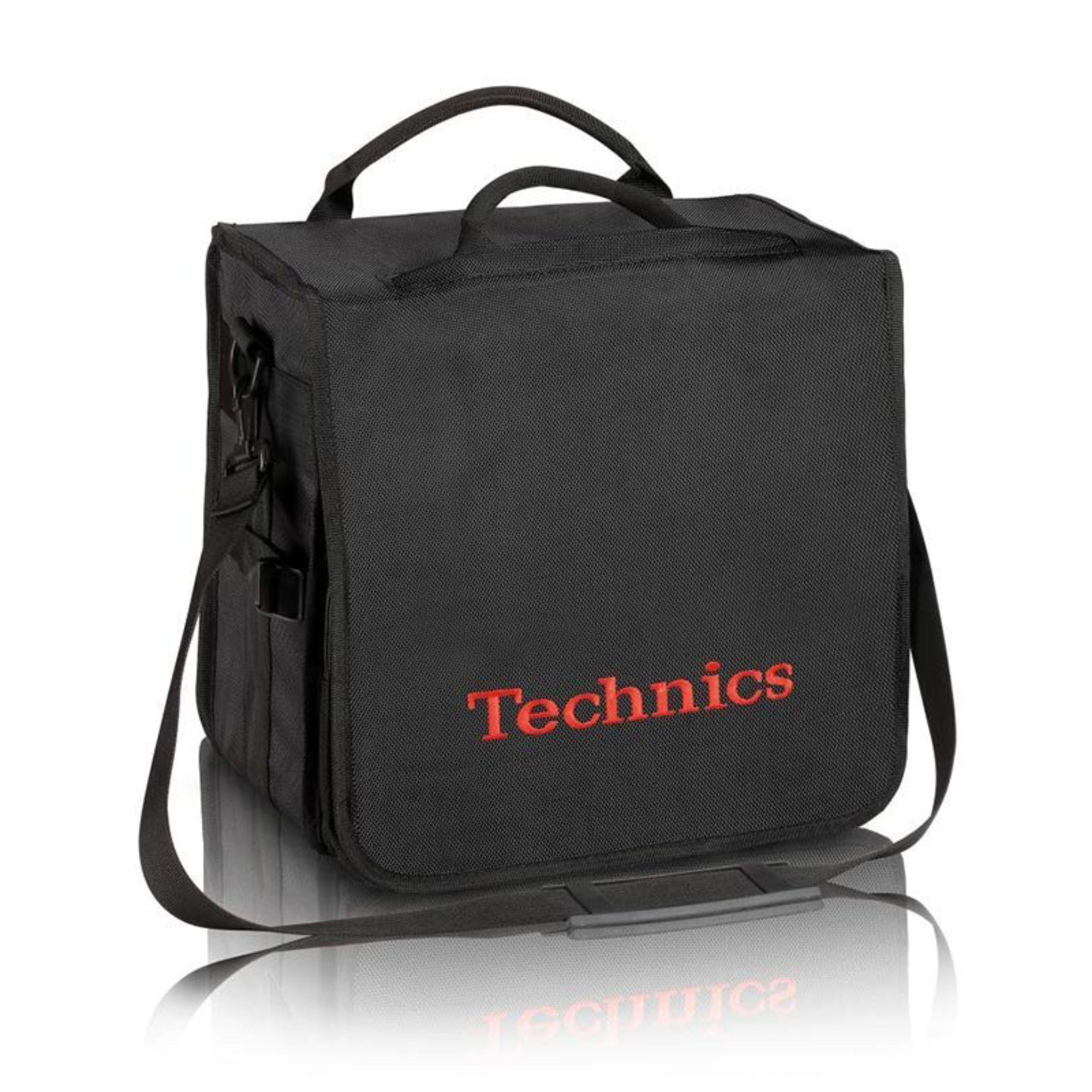 Technics BackBag negro-rojo