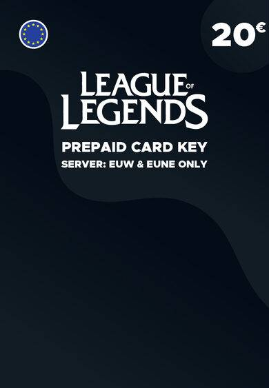 Riot Games League of Legends 20 EUR Prepaid RP Card Key EUROPE