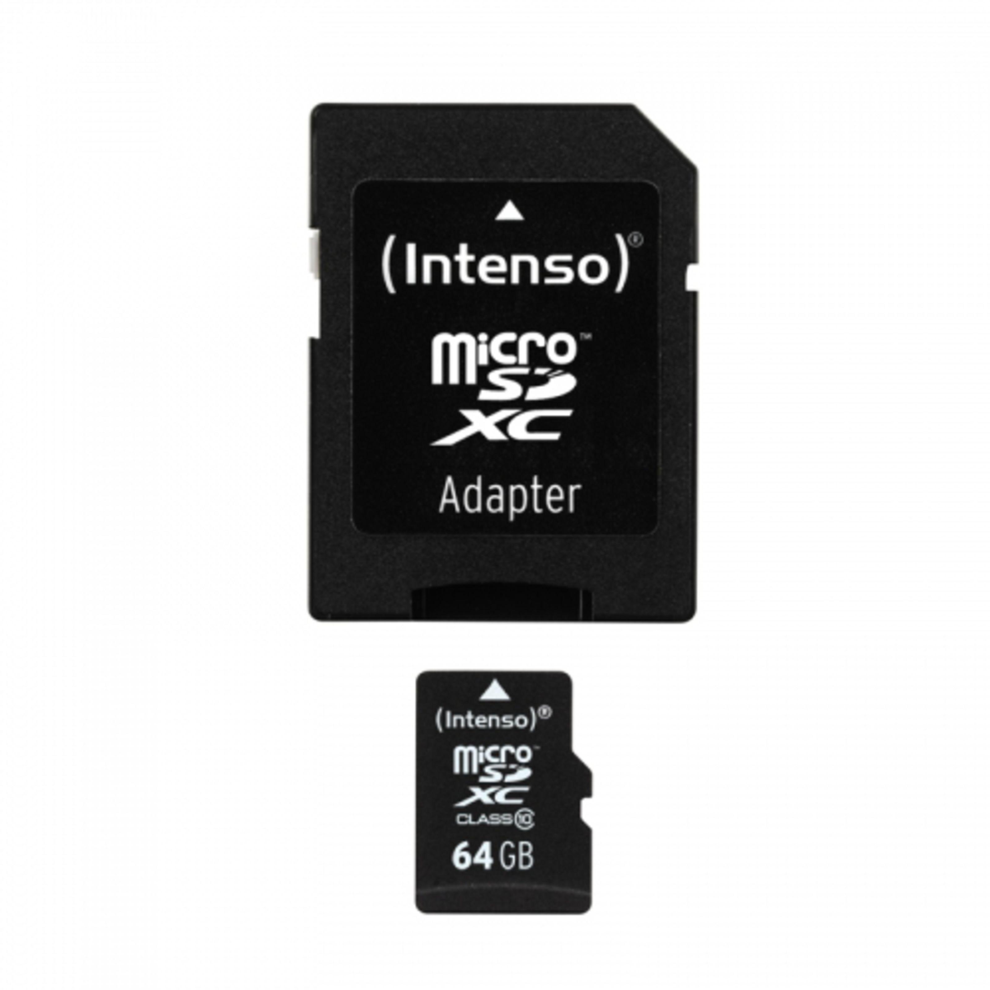 Intenso 64GB Micro SDHC Class 10 Micro Tarjeta SD