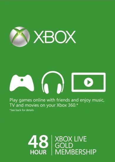 Microsoft Studios Xbox Live Gold 48-hour TRIAL Xbox Live Key GLOBAL