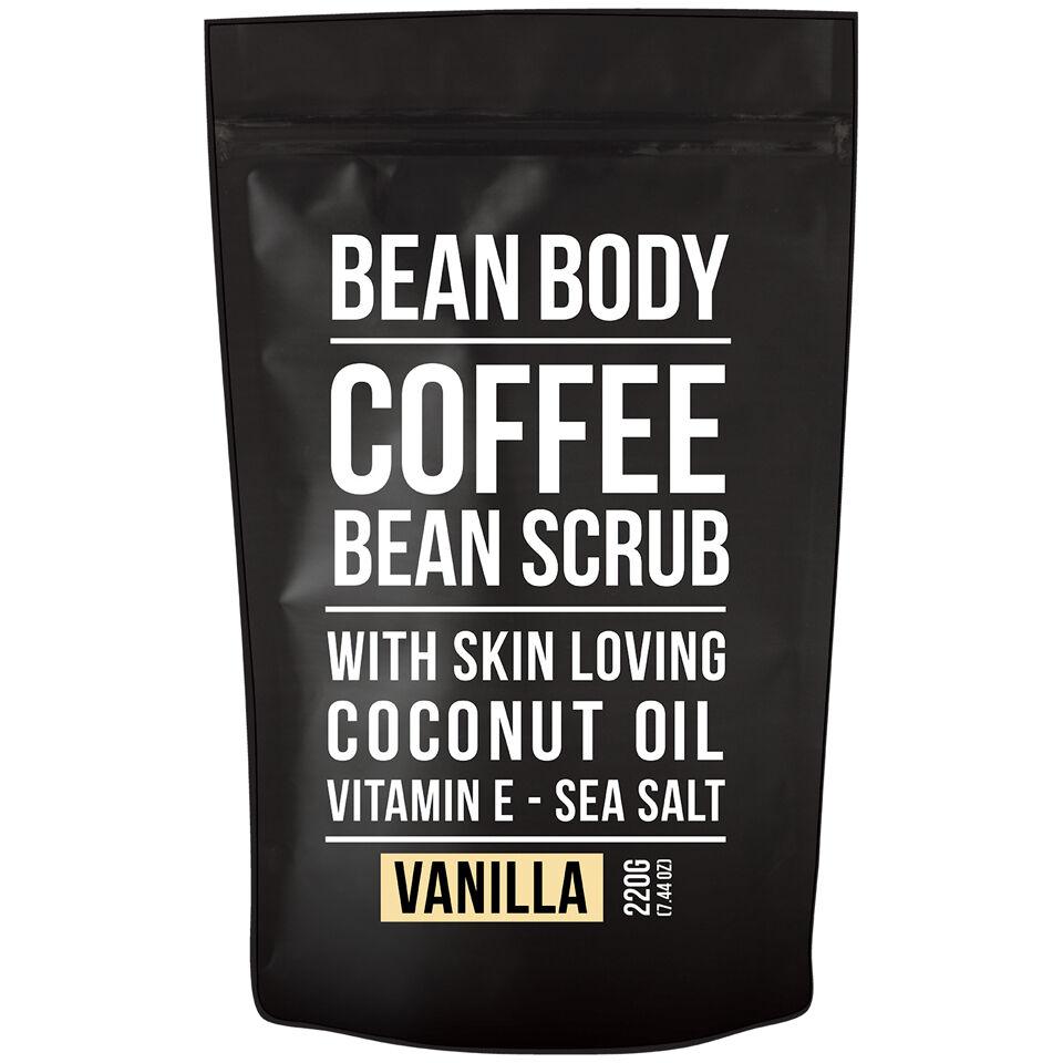 Bean Body Exfoliante de Granos de Café de220 g - Vainilla