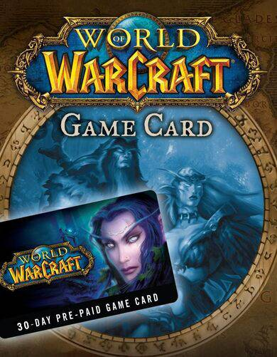 Blizzard Entertainment World of Warcraft 30-day time card Battle.net Key EUROPE