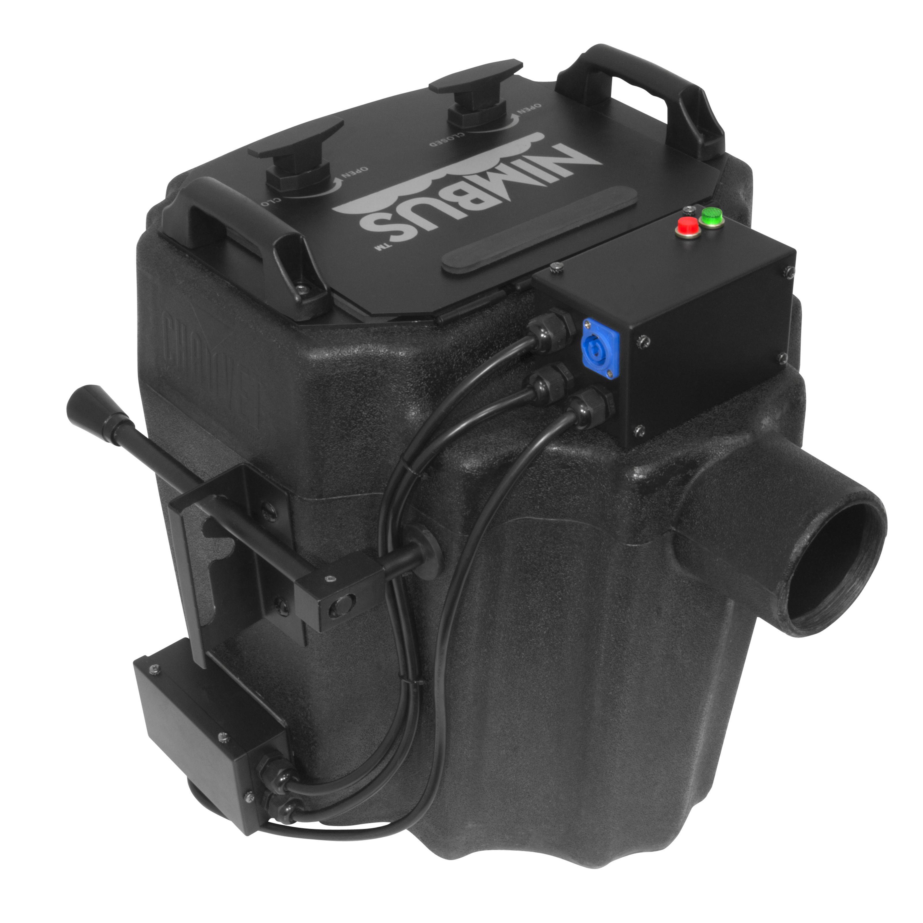 Chauvet DJ Nimbus Máquina de humo de suelo Máquina de hielo seco, 4,5 Kg