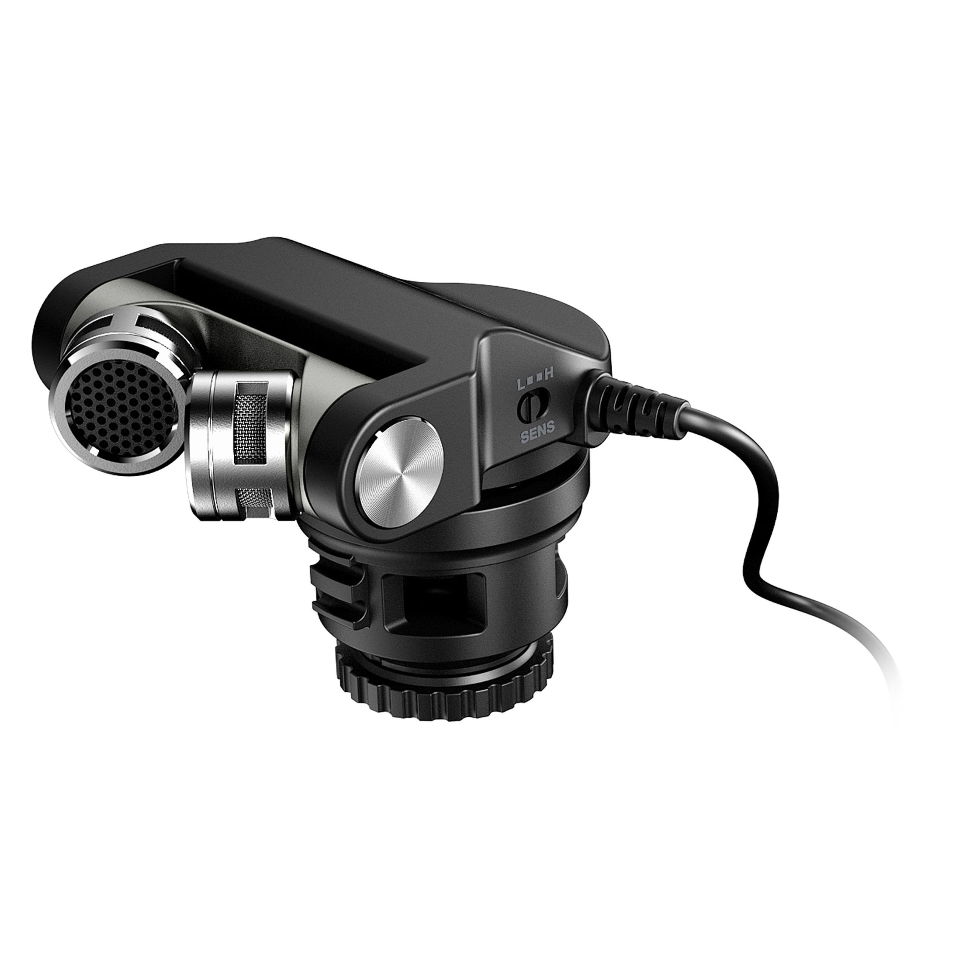 Tascam TM-2X Micrófono para cámaras digitales
