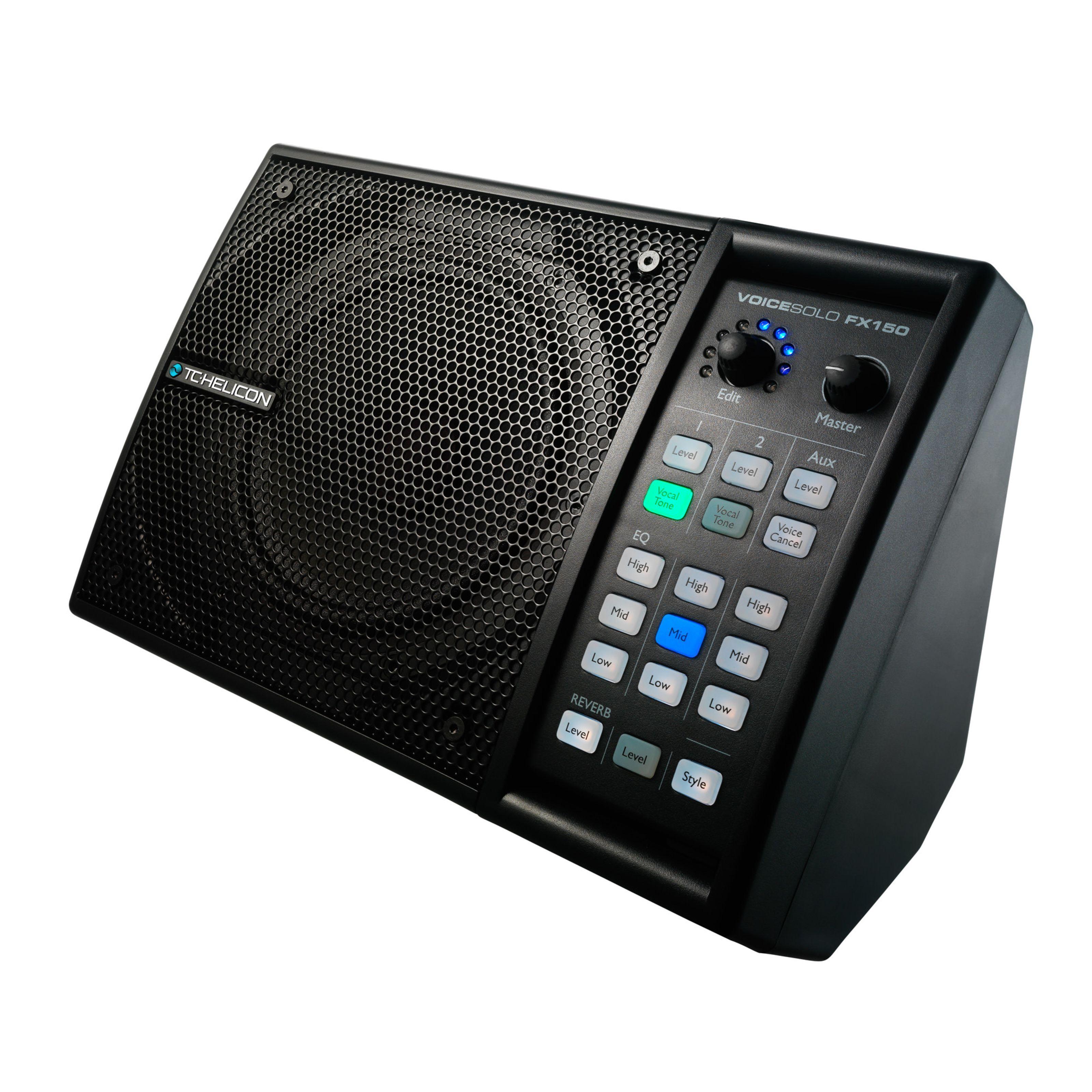 TC-Helicon Voice Solo FX150 Personal PA & Vocal Processor