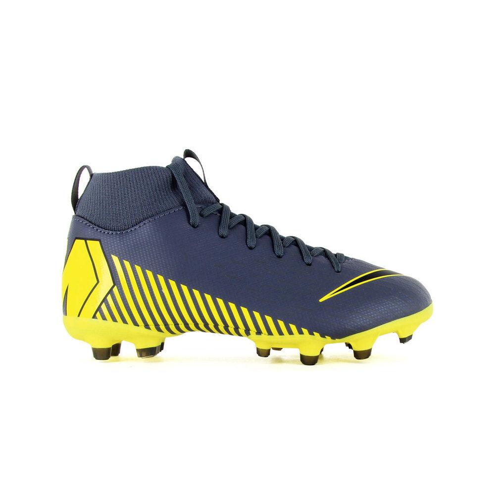 Nike Botas de futbol niño cesped artificial jr mercurial superfly 6 academy gs fg/mg