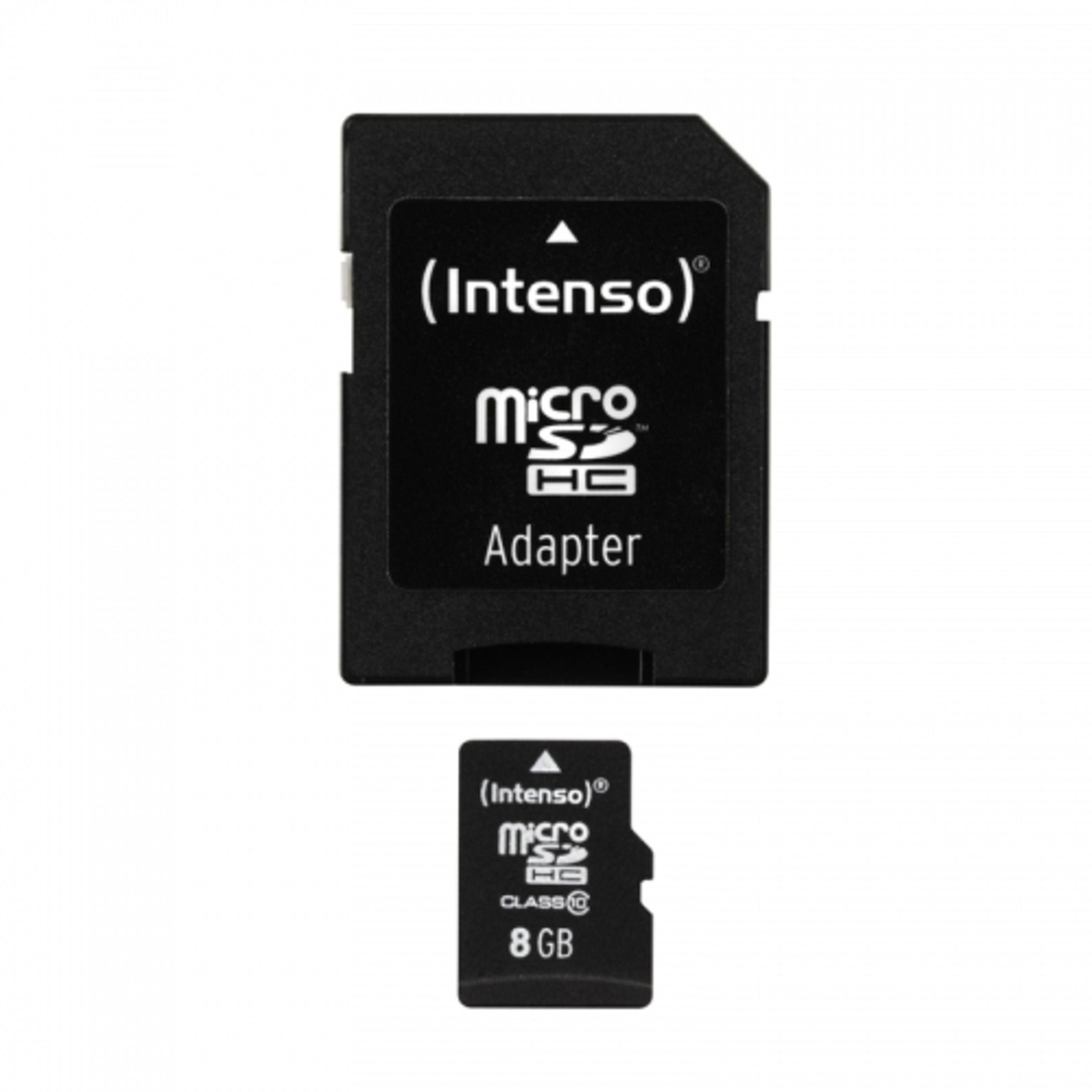 Intenso 8GB Micro SDHC Class 10 Micro Tarjeta SD