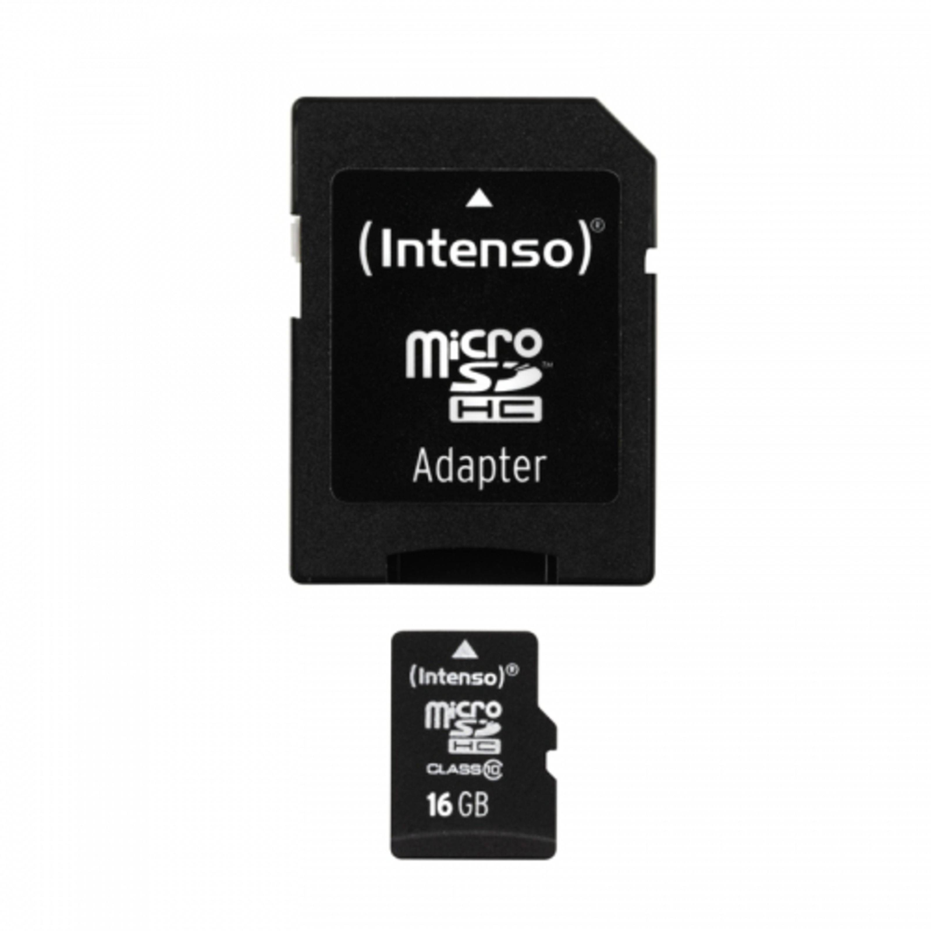 Intenso 16GB Micro SDHC Class 10 Micro Tarjeta SD
