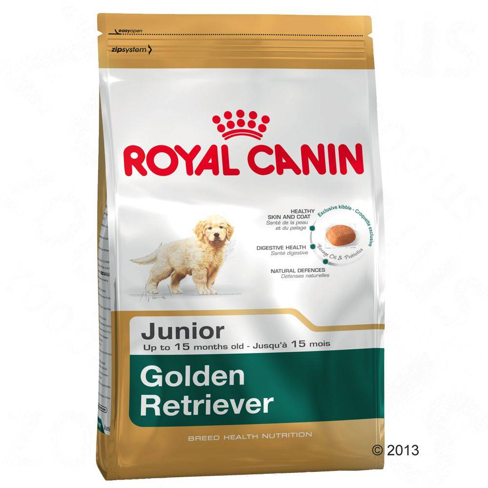 Royal Canin 12 + 2 kg gratis Golden Retriever Junior Royal Canin pienso para perros