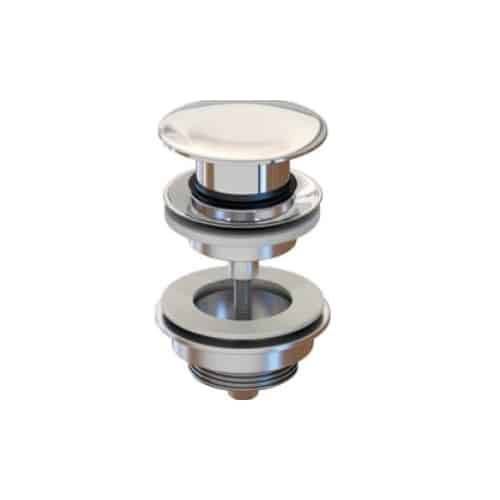 Inbaño Válvula clic-clac redonda tornillo plana - Inbaño
