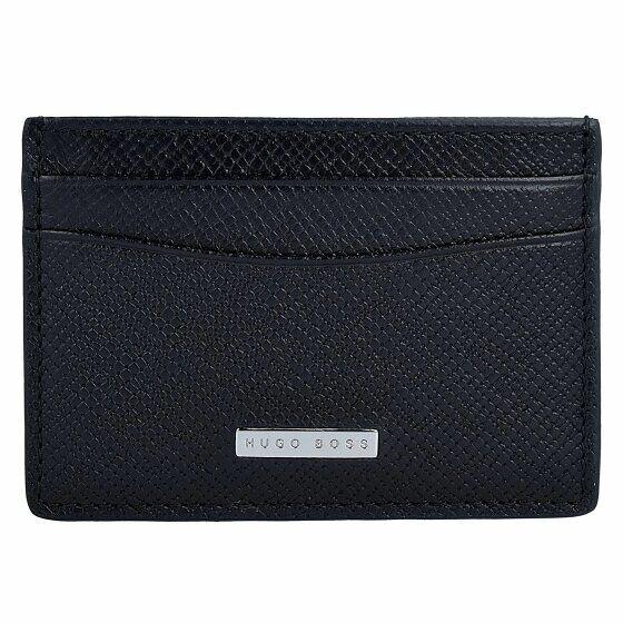Boss Signature Porta tarjetas de credito piel 10 cm Black