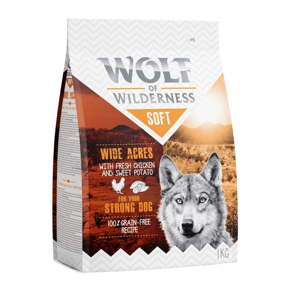 Wolf of Wilderness 3x1kg  Soft pack de prueba