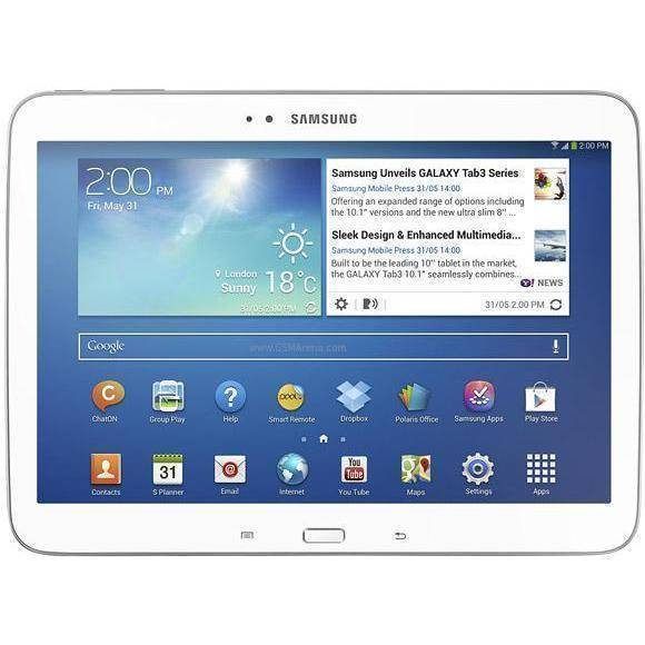 Samsung Galaxy Tab 3 10,1 16 GB WiFi + 3G Blanco Libre
