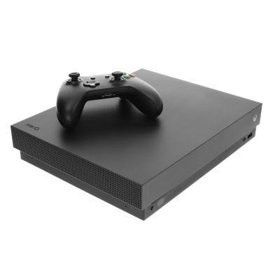 Microsoft Xbox One X - 1TB negro - Reacondicionado: muy bueno   30 meses de garantía   Envío gratuito