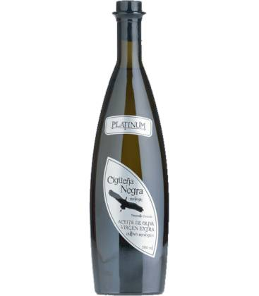 Aceite de oliva virgen extra ecológica cigüeña negra platinum