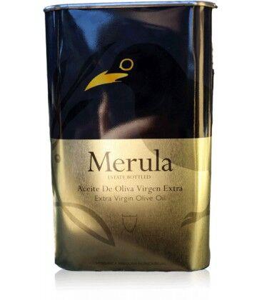 Marques de Valdueza Aceite de oliva virgen extra merula de marqués de valdueza lata de